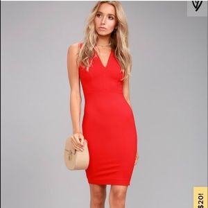 "LuLu's Red BodyCon Dress ""Quite Spectacular"""